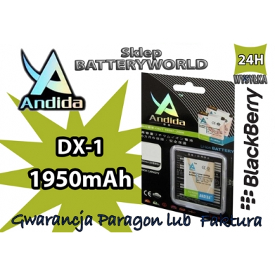 Bateria do BLACKBERRY DX-1 9500 1950mAh Li-ion AND